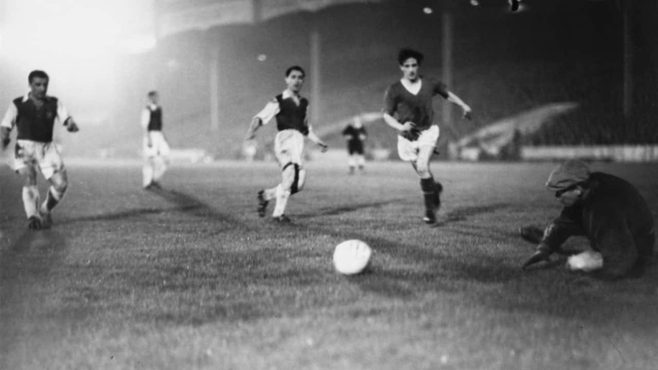 В 1956 году «Юнайтед» разгромил «Андерлехт» со счетом 10-0