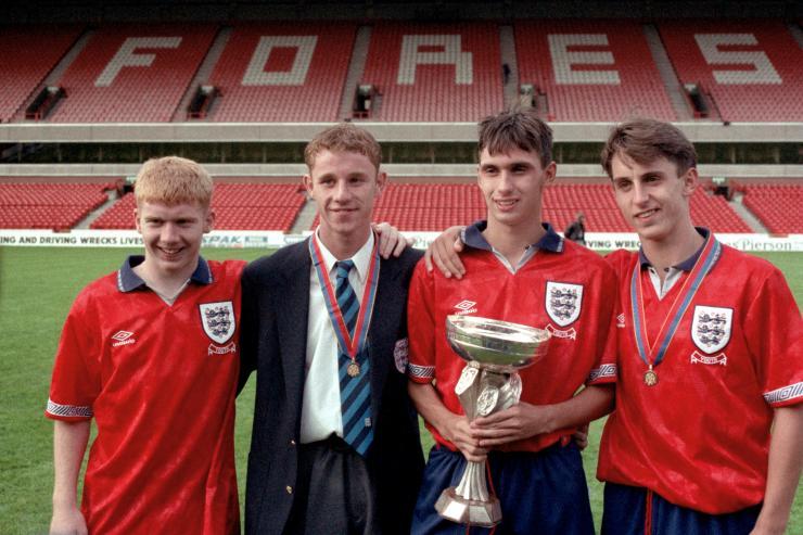 Три великих игрока «Юнайтед» (и Крис Каспер)