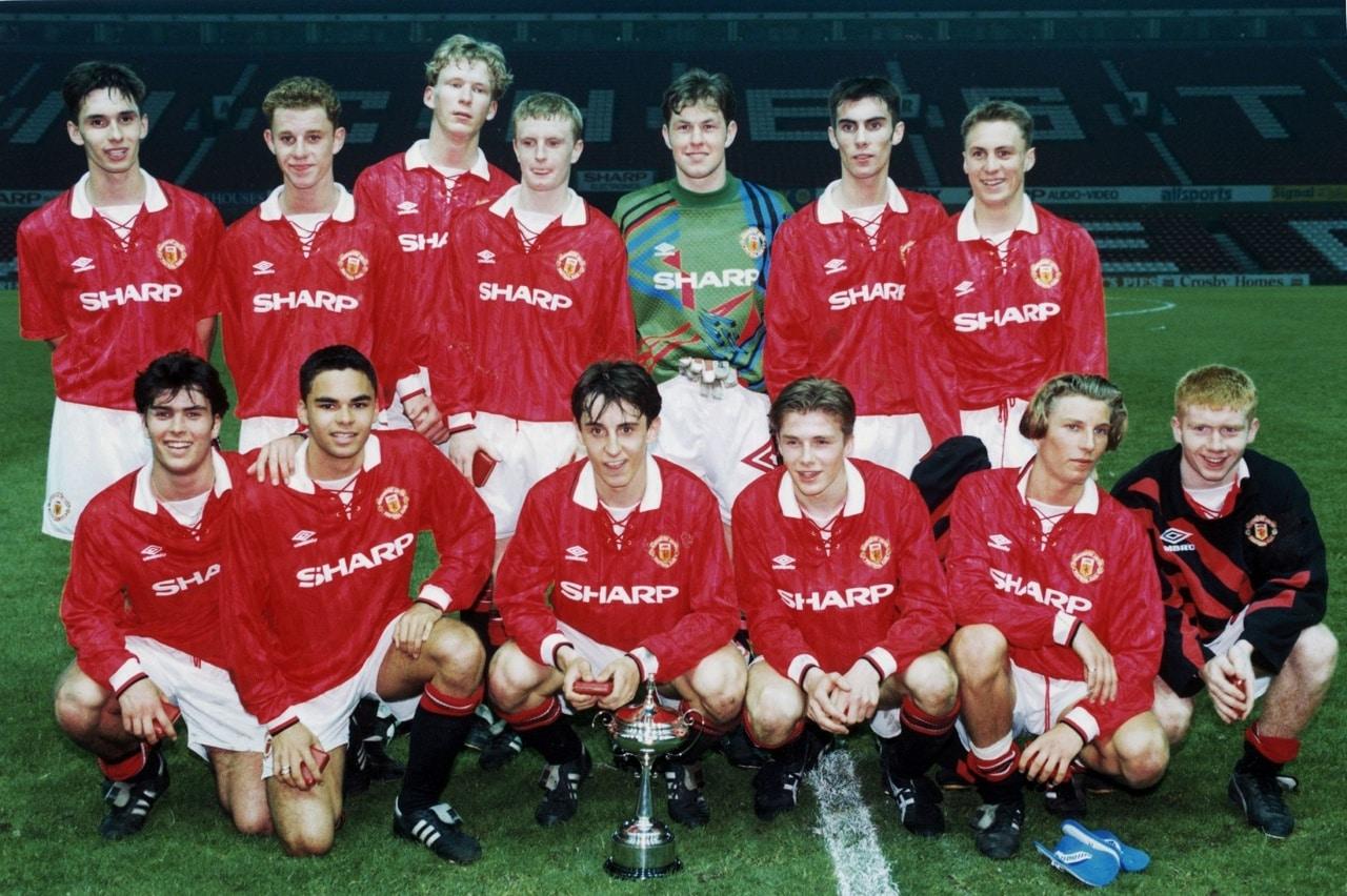Класс '92 с Кубка Ланкашира после победы над «Блэкберном»