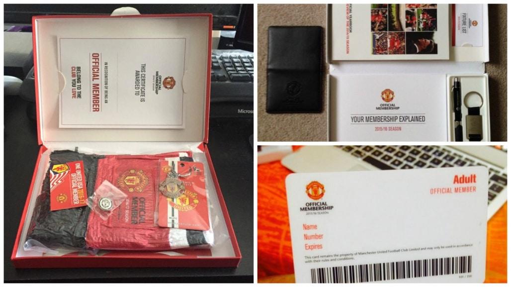 Вы получите стандартный пакет сувениров от клуба (если оформили полный пакет) и право на приобретения билетов на домашние матчи