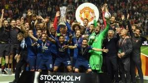 «Манчестер Юнайтед» - обладатель кубка Лиги Европы! (Фото + Видео)