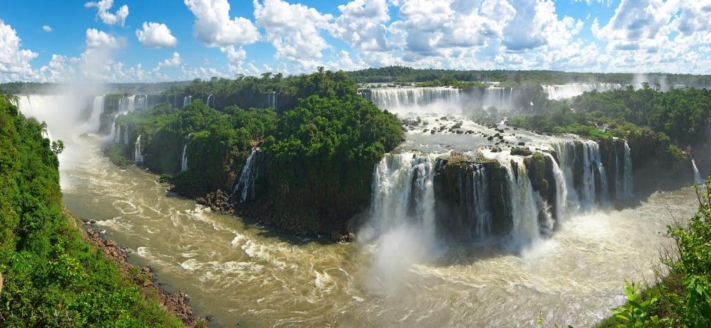 Торжество природы - водопады Игуасу