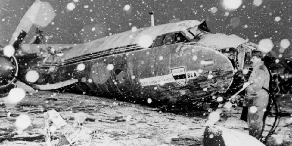 Как был разбит самолет с манчестер юнайтед